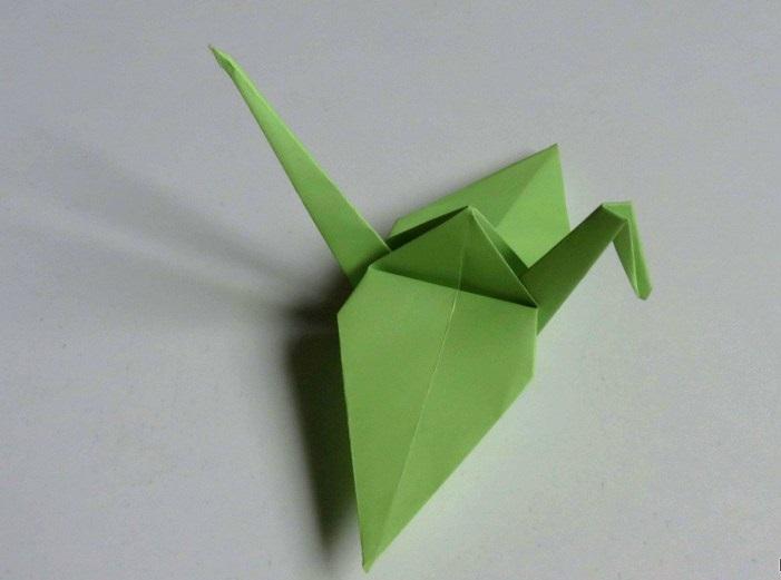 آموزش ساخت پرنده کاغذی
