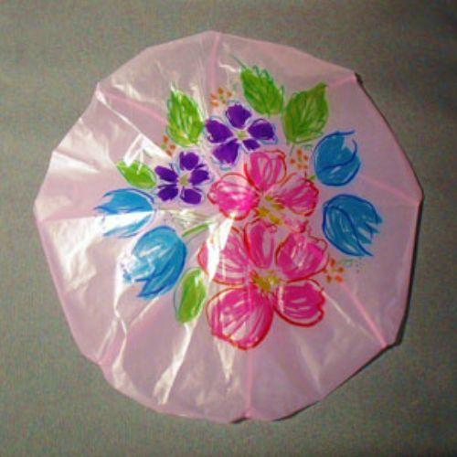 چگونه یک چتر نجات یا پاراشوت بسازیم