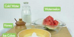 چگونه آب هندوانه را بگیریم ؟