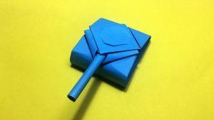 تانک اوریگامی یا تانک کاغذی بسازیم