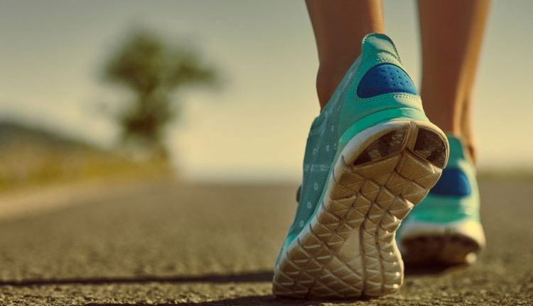 لاغری با پیاده روی و برای کاهش وزن