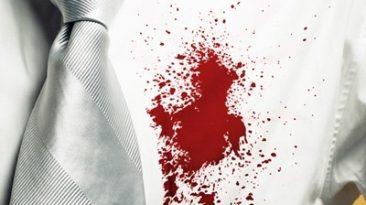 پاک کردن لکه خون