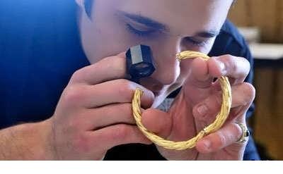 تشخیص طلا