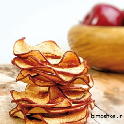 خشک کردن سیب