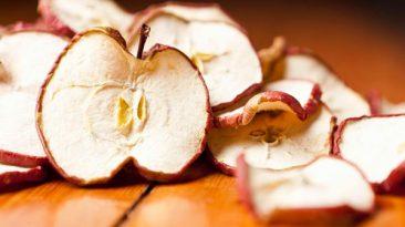 چگونه سیب را خشک کنیم