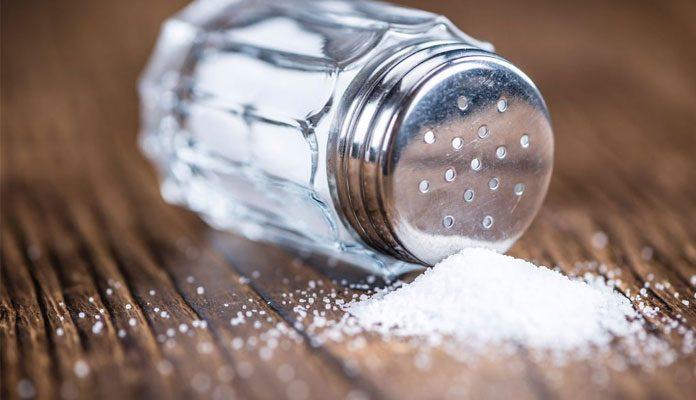 تهیه نمک خوراکیب