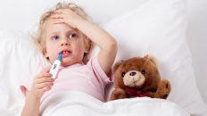کاهش تب کودکان