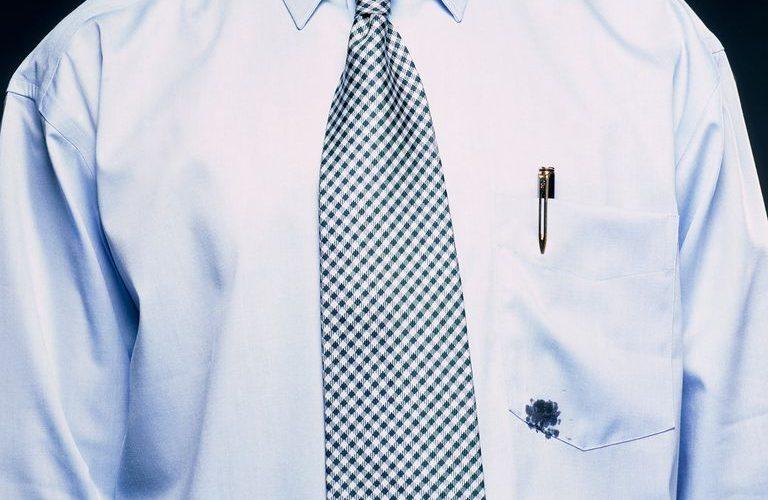 پاک کردن جوهر از لباس