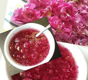 چگونه مربای گل سرخ درست کنیم