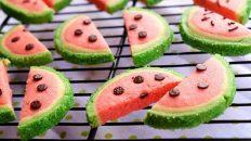 طرز تهیه کوکی هندوانه