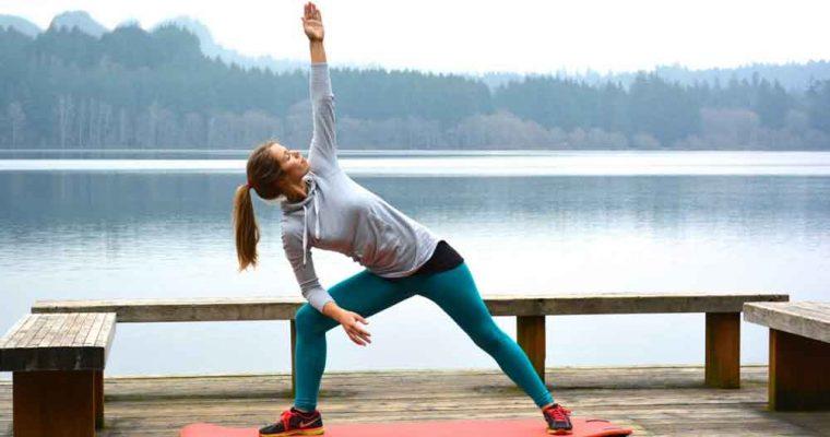 درست بعد از ورزش کردن، حرکات کششی انجام دهید