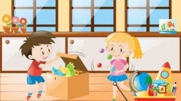بازی های آپارتمانی برای کودکان