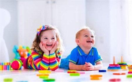 کودکان برون گرا بسیار اجتماعی هستند