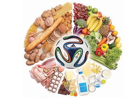 تغذیه یک فوتبالیست