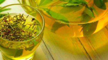 چای سبز و زوفا