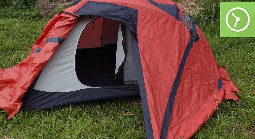 چگونه چادر مسافرتی را نصب کنیم