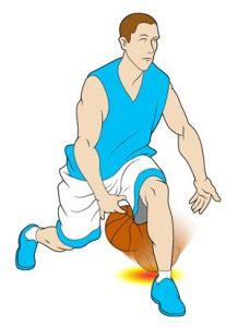 چگونه در بازی بسکتبال دریبل بزنیم و حرکت کنیم