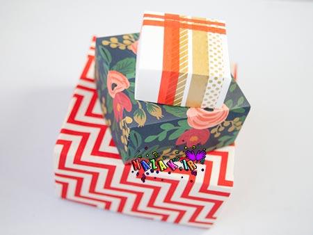 چگونه یک جعبه کاغذی بسازیم