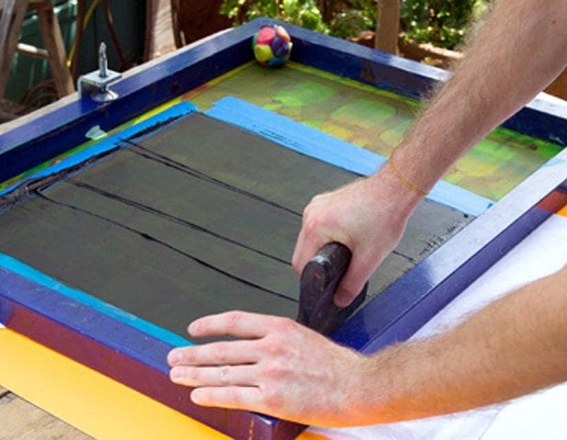 چگونه روی صفحه چاپ دستی انجام دهیم