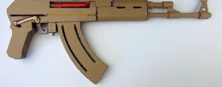 چگونه یک اسلحه اوریگامی بسازیم