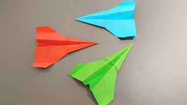 چگونه یک هواپیمای کاغذی یا اوریگامی بسازیم ؟
