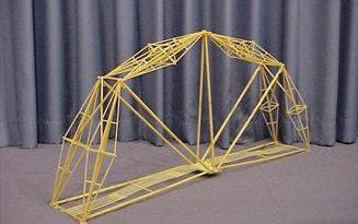 ساخت پل با ماکارونی