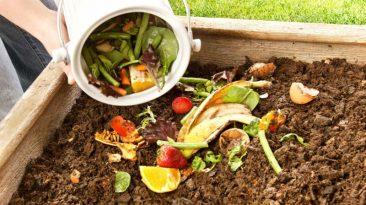 ترکیب خاک با پسماند ها