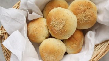 طرز پخت نان صبحانه