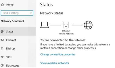 وصل نشدن اینترنت کامپیوتر