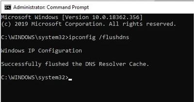 تنظیم مجدد TCP / IP