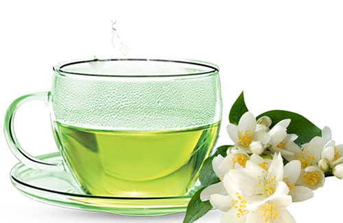 چای سبز و بهارنارنج
